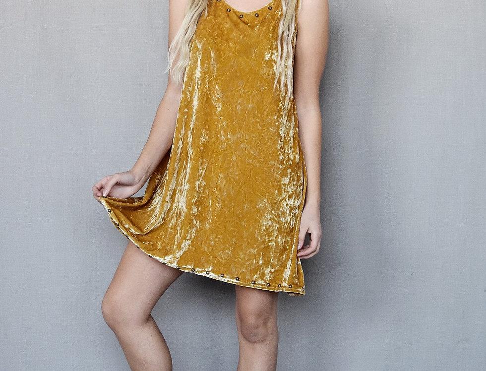 Chloe Dress - Dreamer Gold
