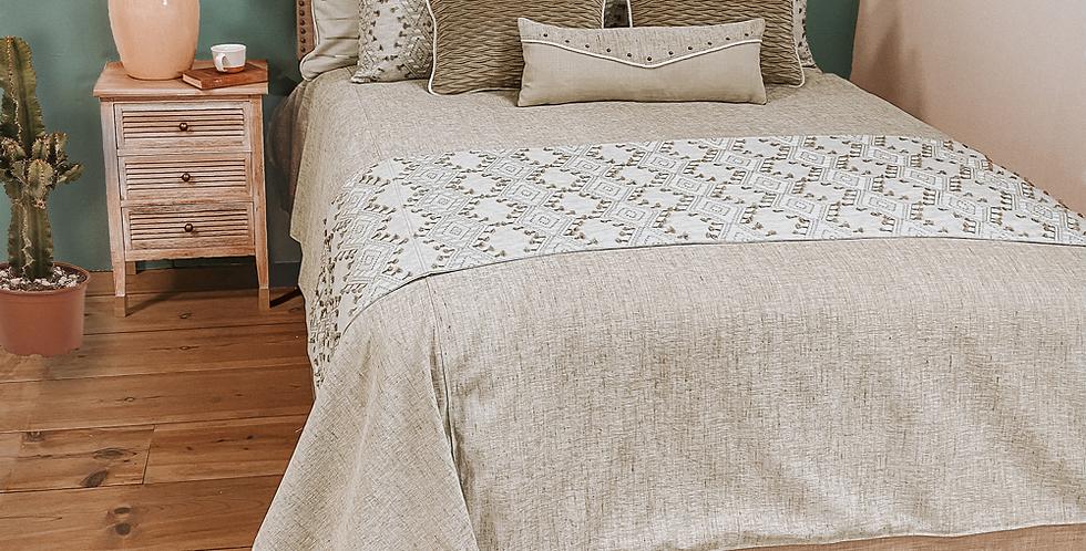 Moonstone White Bed Set