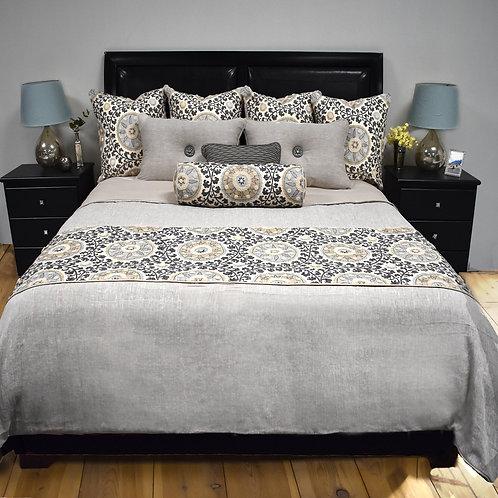 Tribal Platinum Bed Set