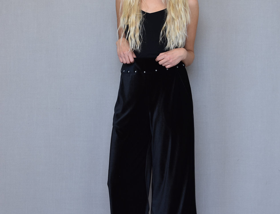 Hailey Pant- Midnight Black