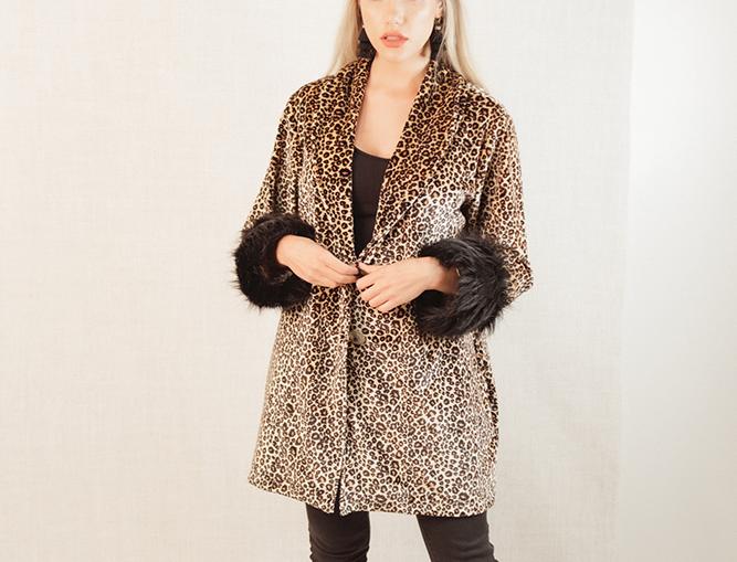 Samantha Coat - Feline Good