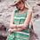 Thumbnail: Chloe Dress - Tribal Green