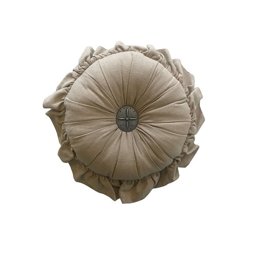 Diana Round Pillow