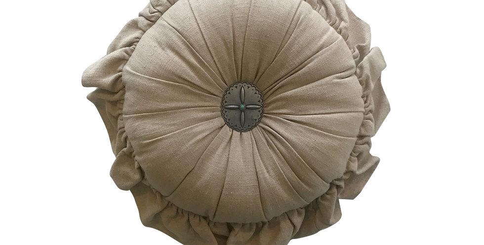 Diana Round Pillow