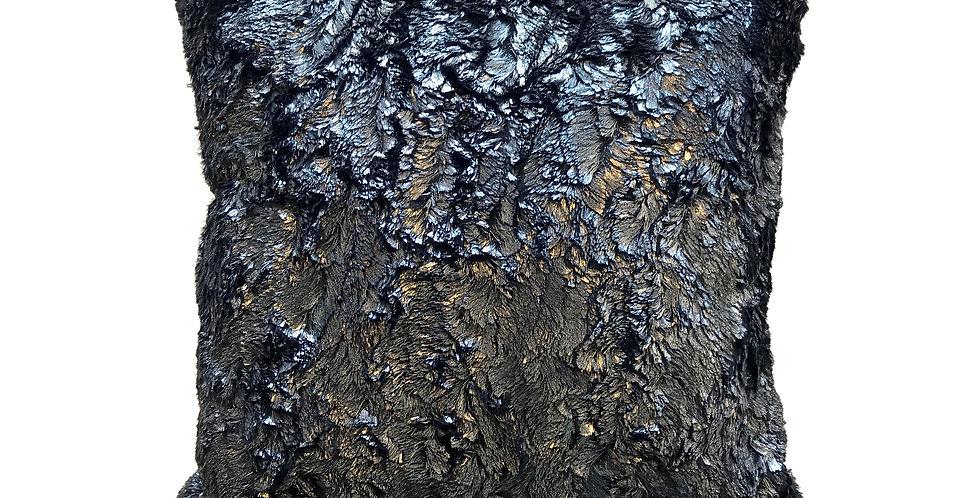 Tundra Metallic Throw Pillow
