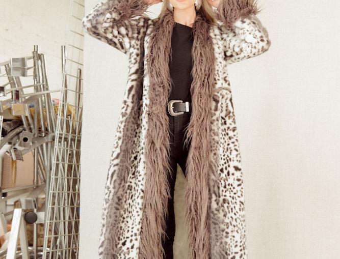 Ashley Duster - Snow Leopard