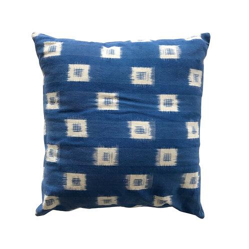 Indigo Japan Throw Pillow