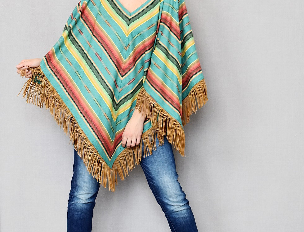 Riley Triangle - Pueblo Turquoise