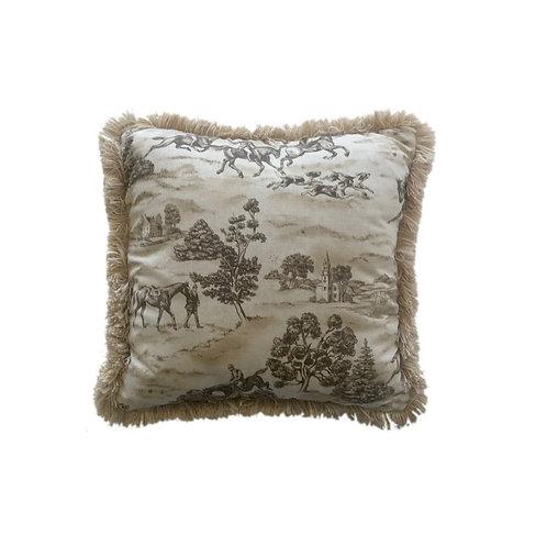 Country Estate Throw Pillow