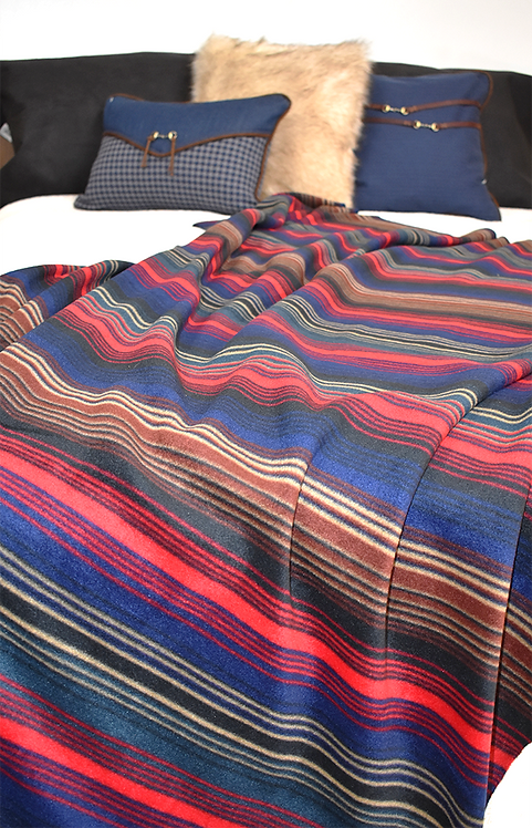 High Plains Stripe Throw