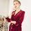 Thumbnail: Rebecca Shirt- Burgundy Velvet
