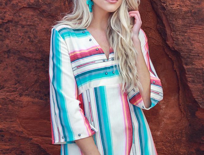 Zoey Blouse - Navajo White