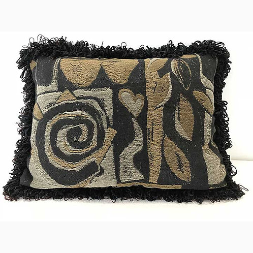 Swirl Accent Pillow