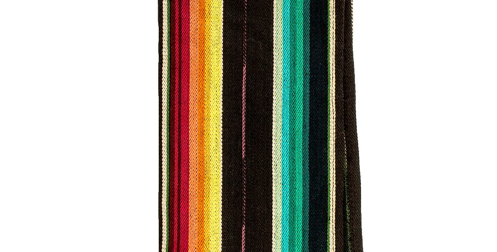 Black Serape Napkin Set