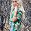 Thumbnail: Paloma Top - Tribal Green