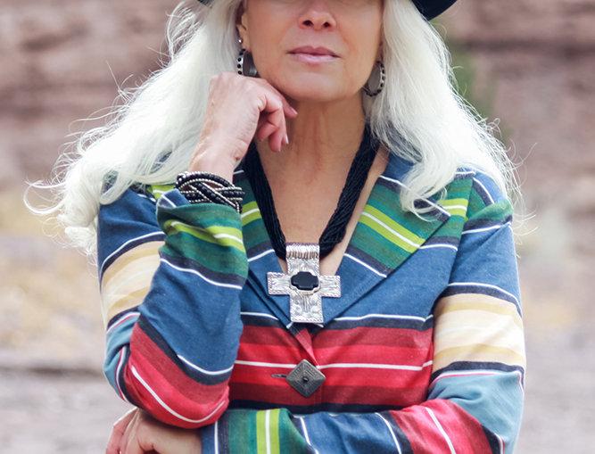 Maria Jacket - Palermo Stripe