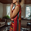 Thumbnail: Chloe Dress - Maroon Serape
