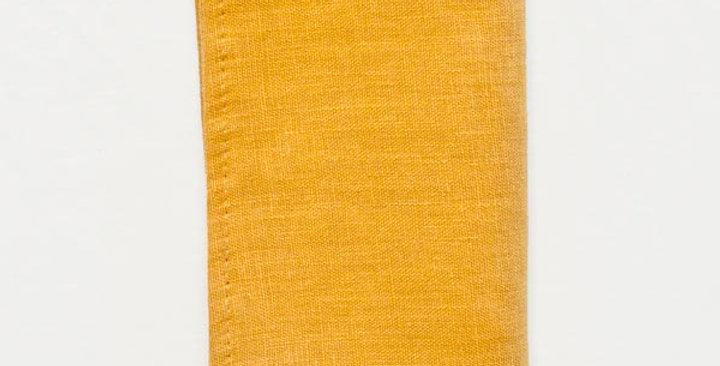 Linen Mustard Napkin Set