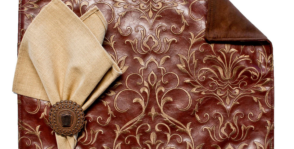 Embroidery Brown