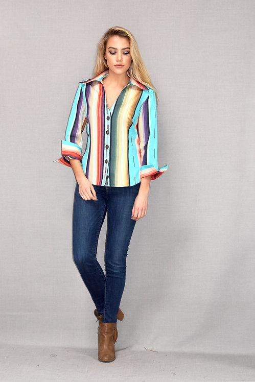 Rebecca Shirt-Colorado Crystal