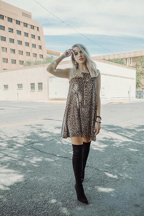 Chloe Dress - Feline Good