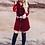 Thumbnail: Ana Dress-Burgundy Velvet