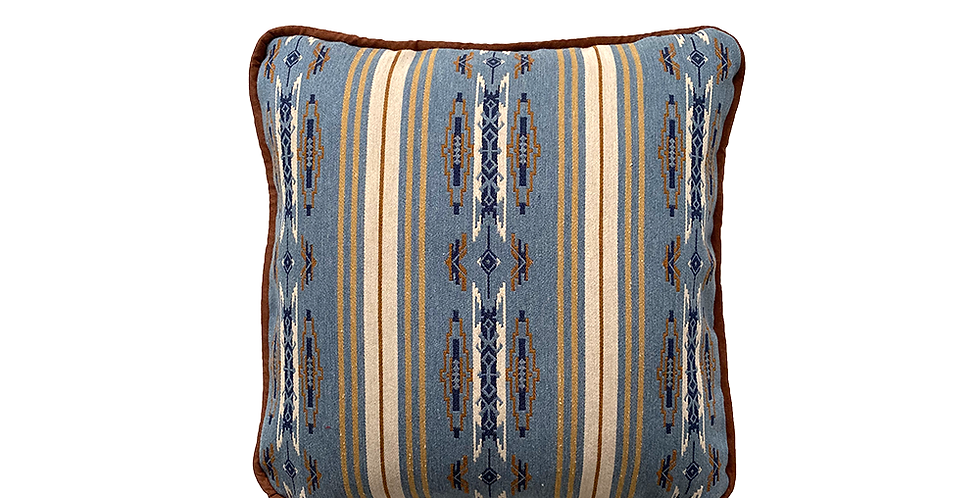 BlueSage Throw Pillow