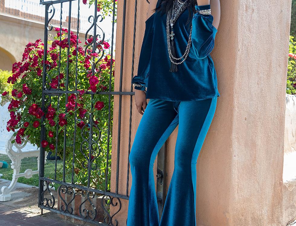 Kristi Pant - Dynasty Blue