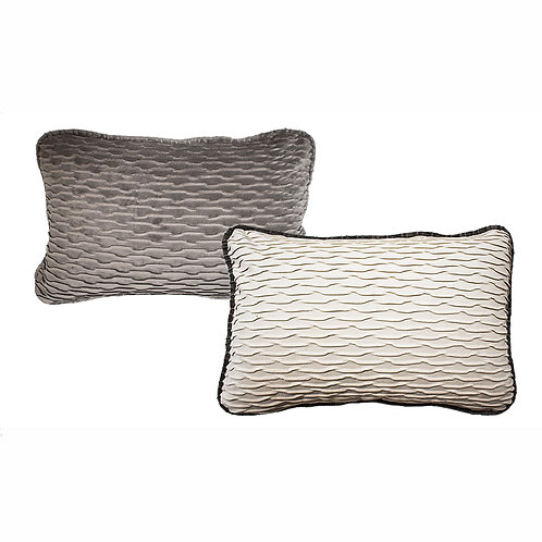 Tribal Platinum Accent Pillow