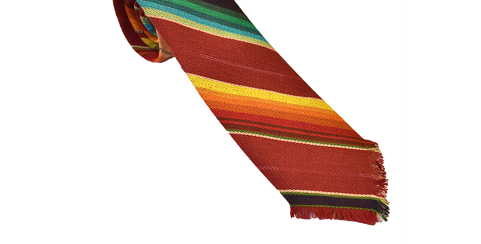 William Tie - Maroon Serape