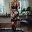 Thumbnail: Peyton Skirt - Cowhide Black