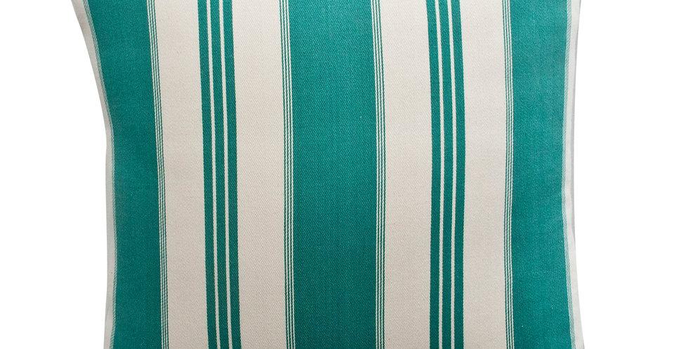 Summer Stripe Throw Pillow