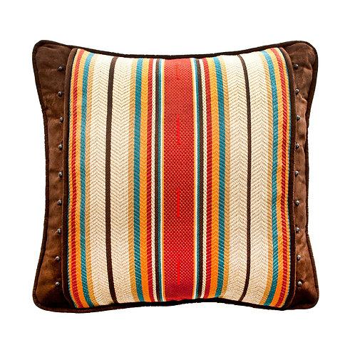 Chocolate Capistrano Throw Pillow