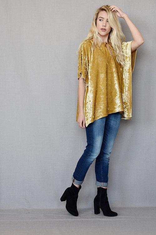Paloma Top - Dreamer Gold