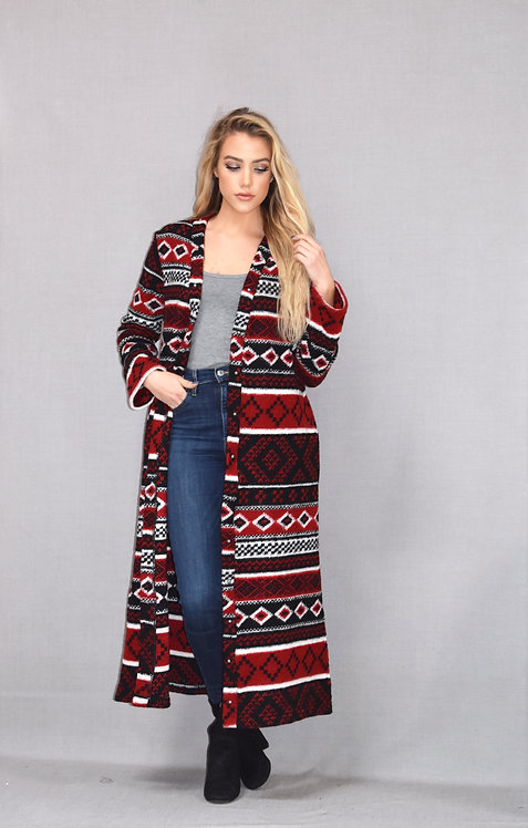 Ashley Duster -Alpine Knit