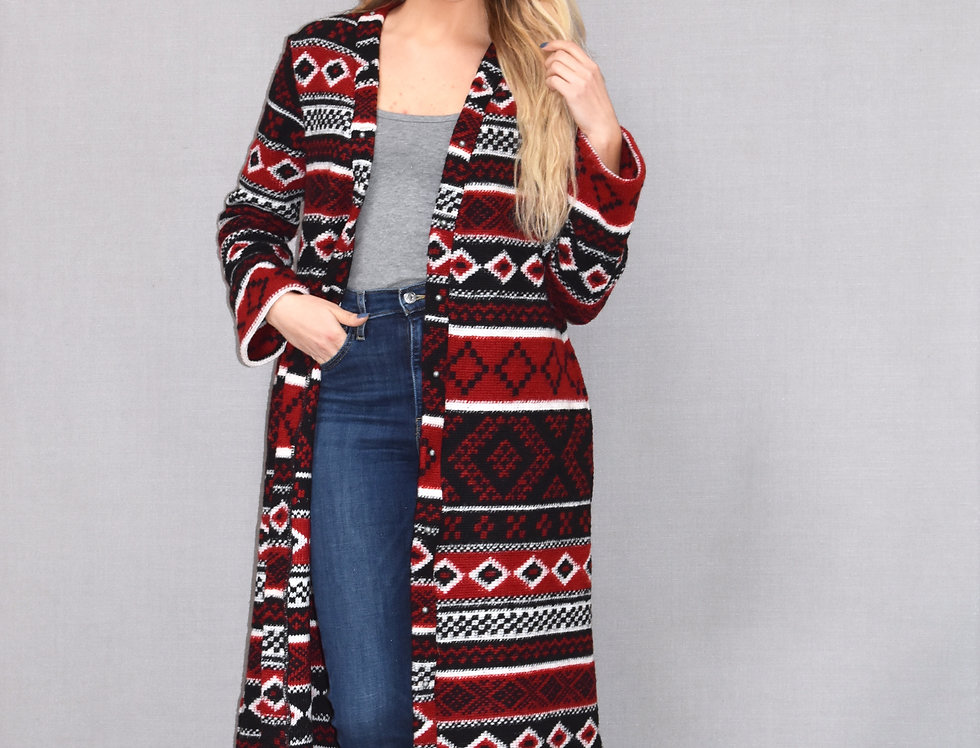 Ashley Duster -Alpine Knit