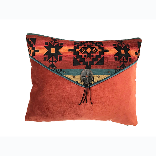 Adobe Sunset Accent Pillow
