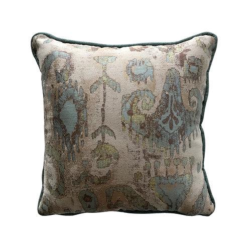 Monet Paisley Throw Pillow