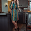 Thumbnail: Ana Dress - Teal Serape