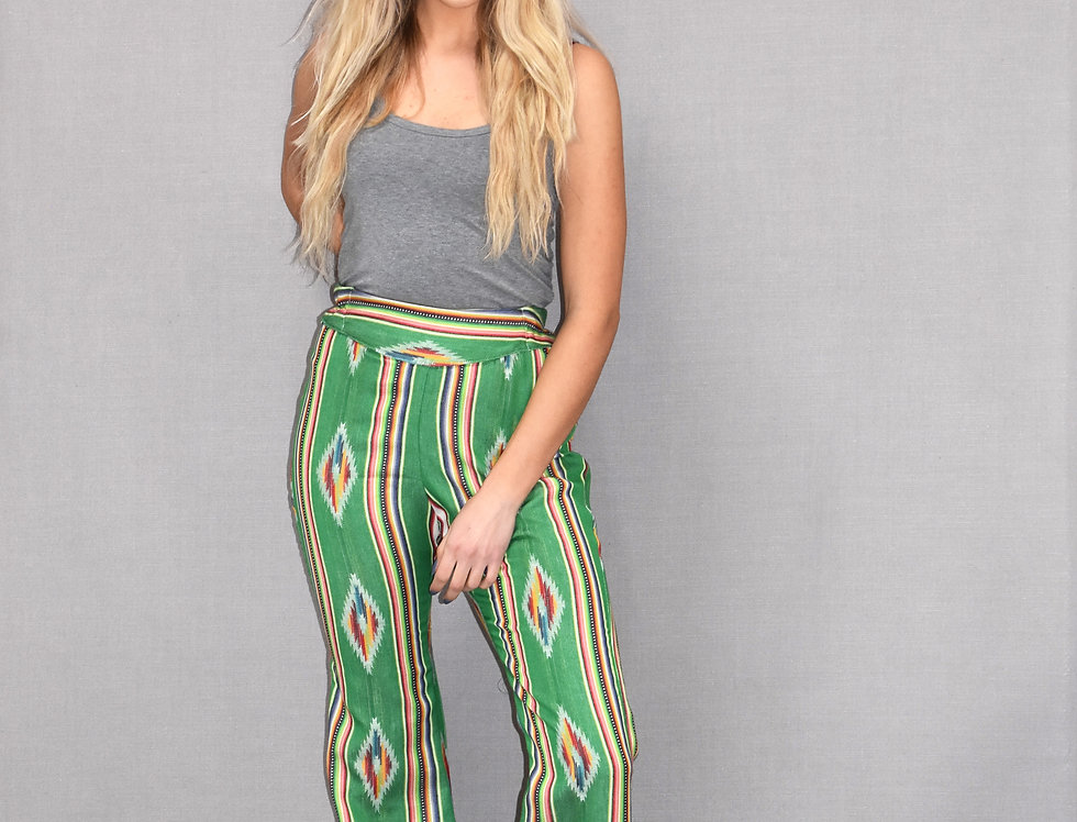Nicole Pant - Tribal Green