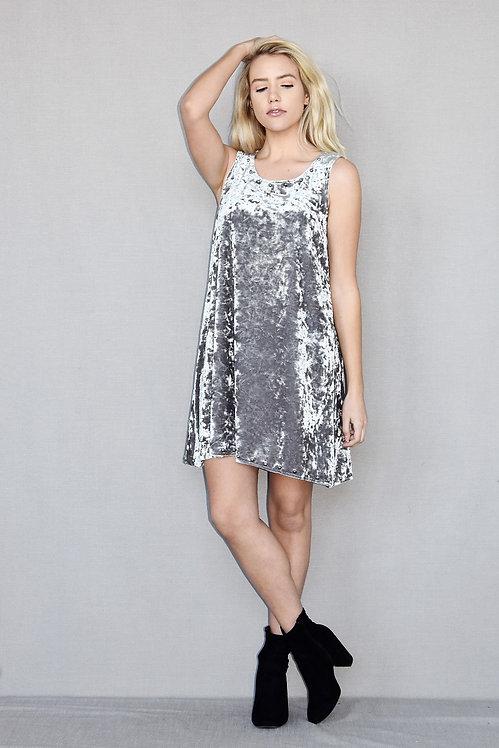 Chloe Dress - Dreamer Silver