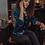 Thumbnail: Rebecca Shirt- Turquoise Velvet