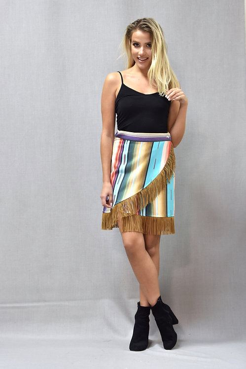 Peyton Skirt- Colorado Crystal