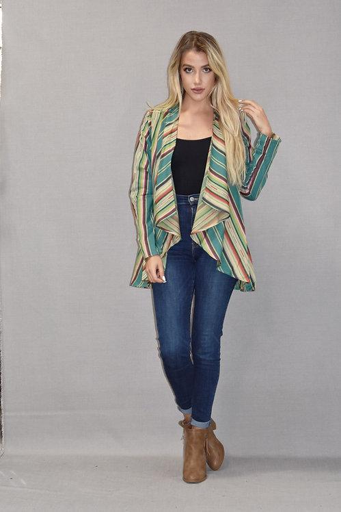 Adison Jacket - Zuni Turquoise