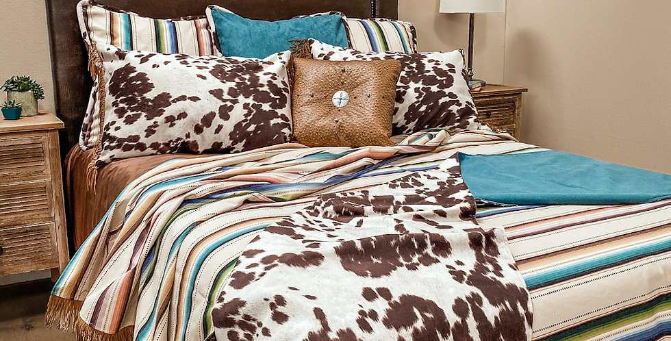 Saltillo Natural Bed Set