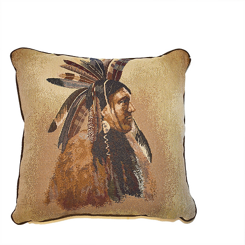 Big Chief Throw Pillow