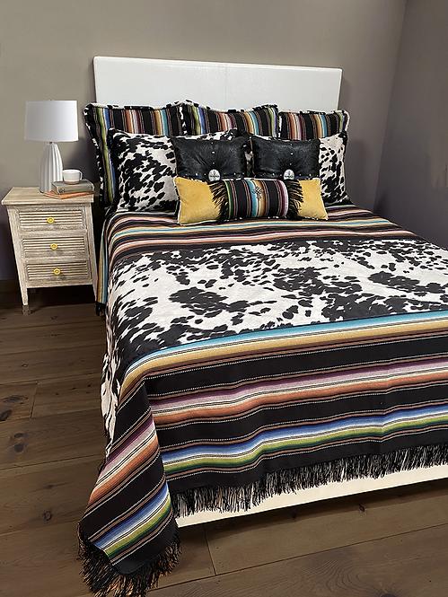 Saltillo Black Bed Set