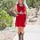 Thumbnail: Chloe Dress - Lipstick Velvet