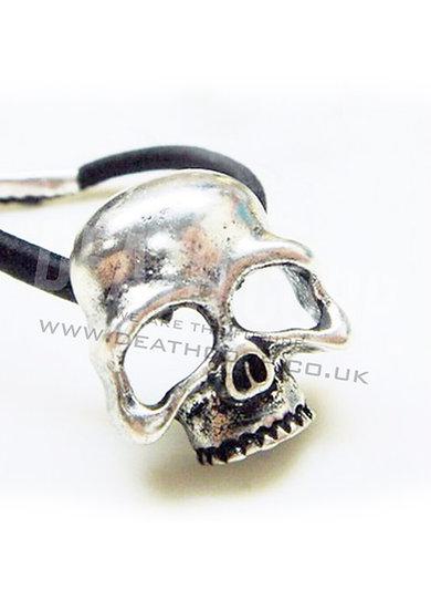 Skull Hairband (black or silver)