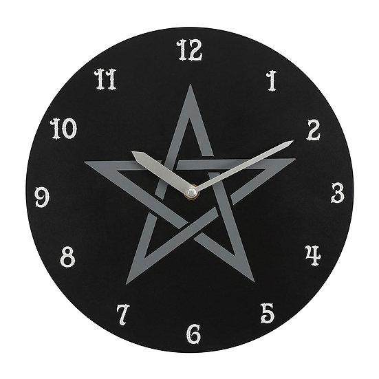 Pentagram Clock 28cm